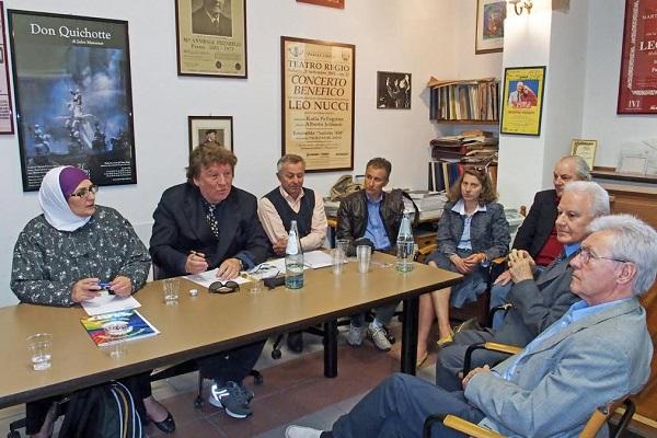 Incontro dei rappresentanti di Avis e Consulta dei Popoli di Parma
